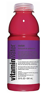 Revive is the only Vitaminwater flavor that is directly affiliated with the NCAA, and it does not contain banned or impermissible substances.