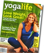 The premiere issue of 'Yoga Life.'