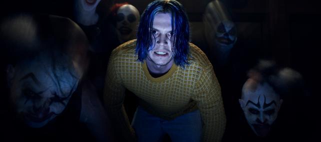 Evan Peters as Kai Anderson in FX's American Horror Story.