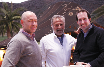 On the Set With The Most Interesting Man in the World