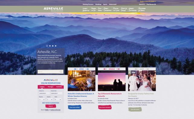 Arrivalist tracked visitors to Asheville, N.C.