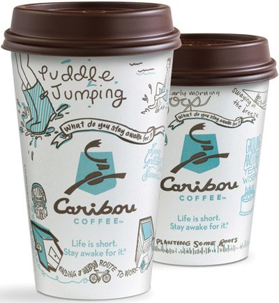 Caribou Coffee Revels in Its Role as the Little Guy