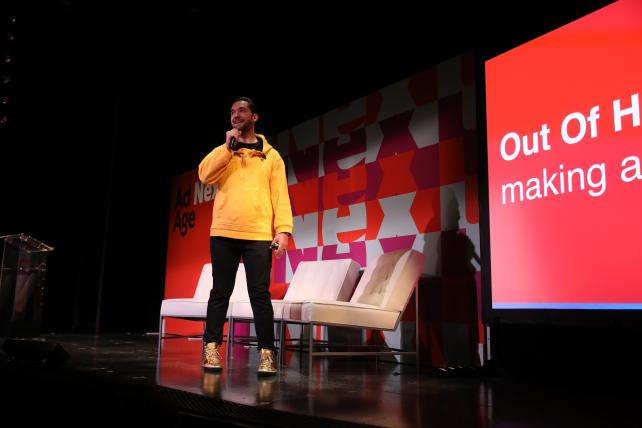 Shoplifting, Serena Williams and software: Alexis Ohanian at Ad Age Next