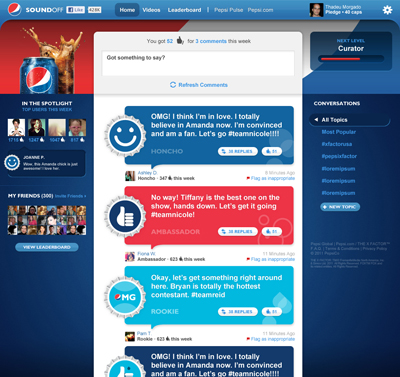 Pepsi Launches Social-Viewing Platforms for 'X Factor'