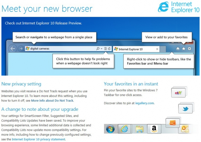 I Was Behaviorally Targeted After Using Microsoft's Do Not Track Browser