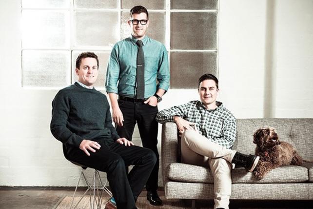 Reach Agency: (from l.) Frank Catapano, managing partner; Gabe Gordon, managing partner; and Marc Hustvedt, Partner