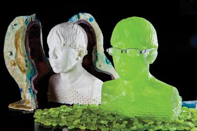 Halls: Green Grape Sculptures-Best of 2011 PD #9