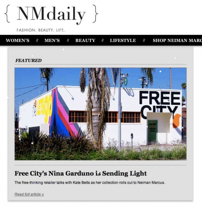 Neiman Marcus Is Getting Social