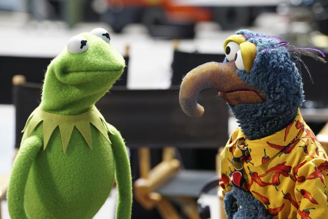 The Muppets came in No. 2 after