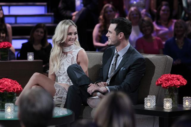 Lauren Bushnell and Ben Higgins, who agreed to marry in the finale of last season's 'Bachelor,' are getting a new series on ABC sibling Freeform.