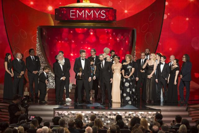 HBO's 'Game of Thrones' wins Best Drama at the 68th Primetime Emmy Awards.