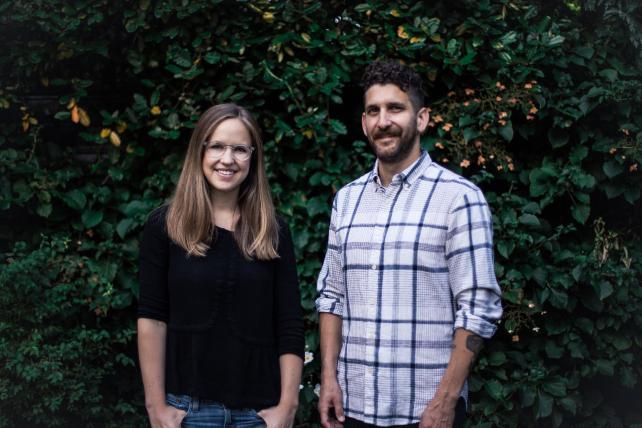 Hannah Smit and Tony Barolucci