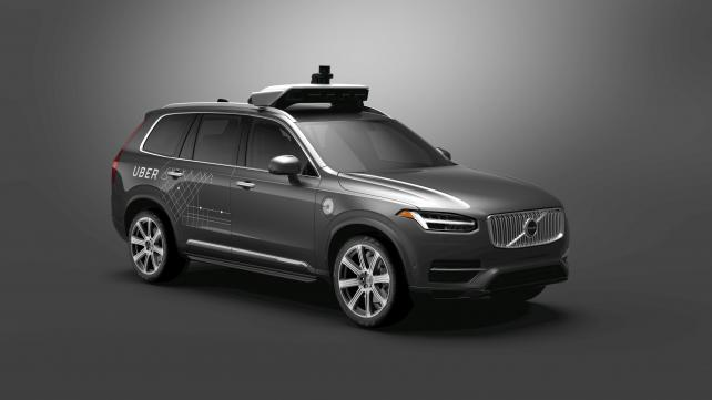 Uber Steps Up Driverless Push With Deal for 24,000 Volvos