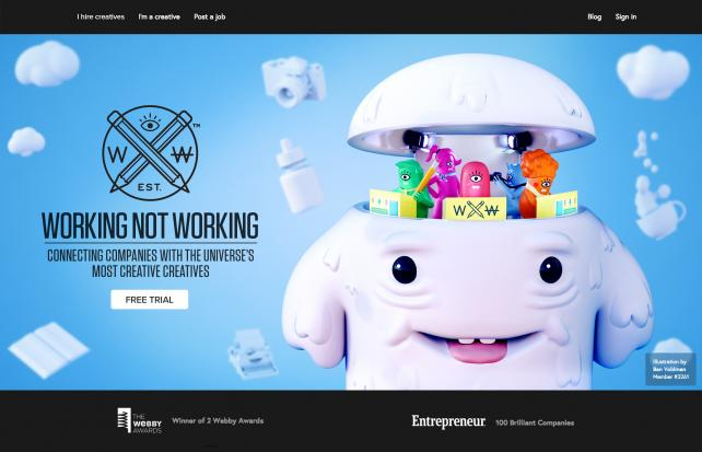 Working Not Working Homepage