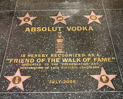 Brands Join the Stars on Hollywood Walk of Fame -- at $1M Price Tag
