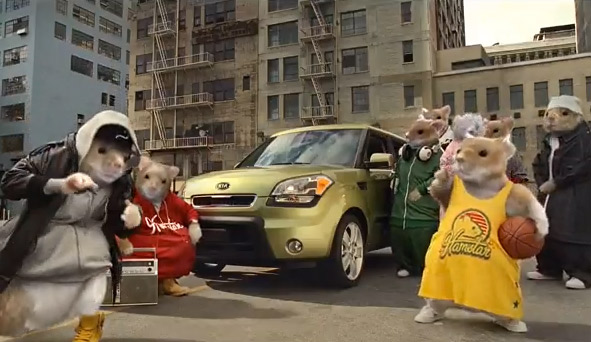 Kia To Bring Back Hamsters For New Campaign | Special: Small Agency Awards  2012   Ad Age