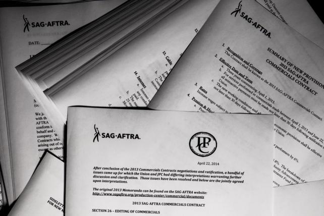 Sag Aftra Calls For Strike Against Bbh Agency News Ad Age