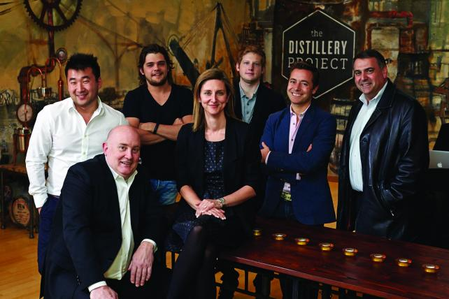 The team at Distillery Project.