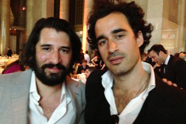 Code + Theory's Dan Gardner and Brandon Ralph circa May 2013 in New York City.