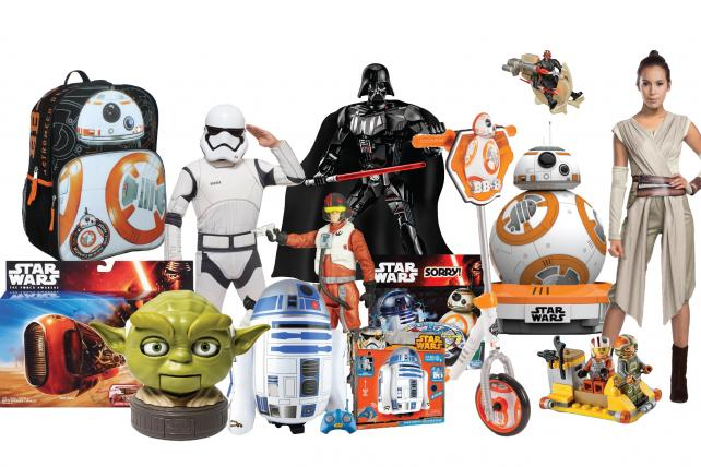 Female protagonist Rey is MIA from most toy shelves.