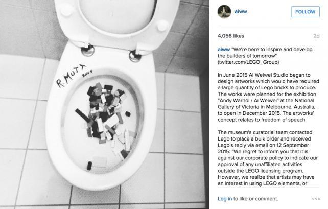 From Ai Weiwei's Instagram account (@aiww)