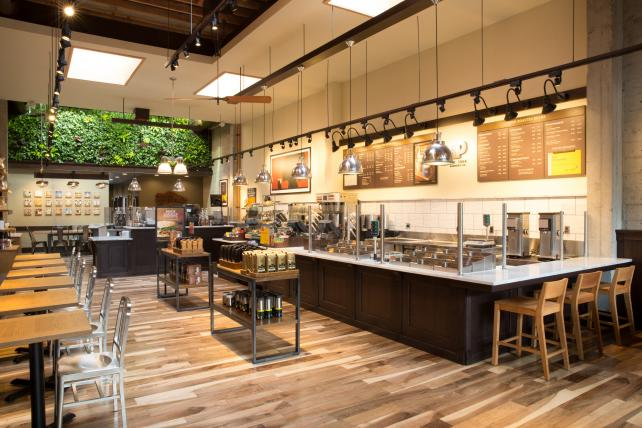 Peet's Coffee & Tea San Francisco Flagship store