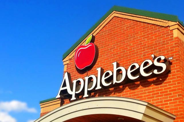 Applebee's restaurant in Plainville, CT (June, 2014).
