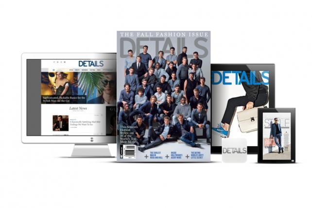 Condé Nast has folded Details magazine.