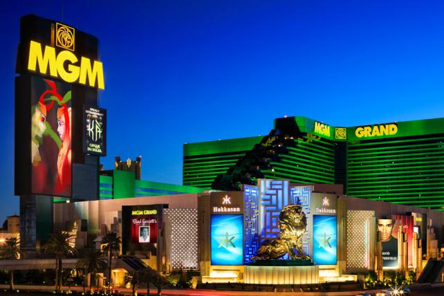 The MGM Grand Casino and Hotel in Las Vegas, NV.