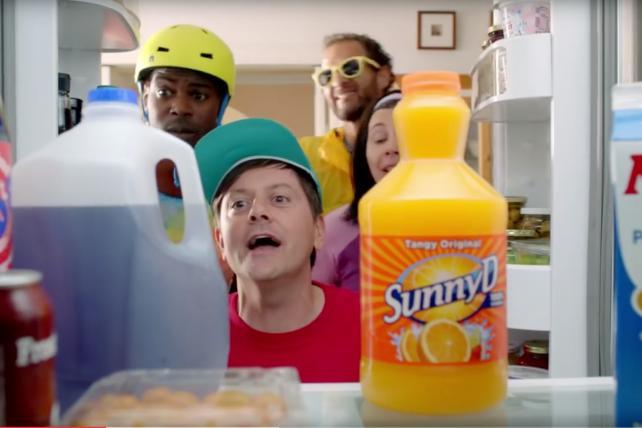 Sunny Delight Beverage Company: Grenadier's Latest for Sunny D-15
