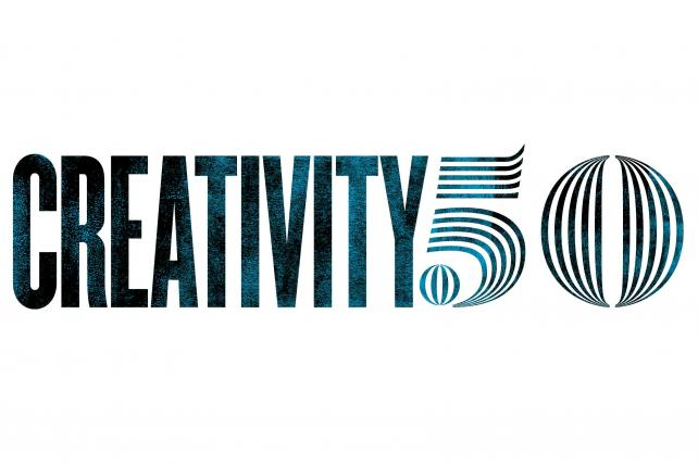 See the 10th Anniversary Creativity 50: Creativity Is the Answer for These Standouts