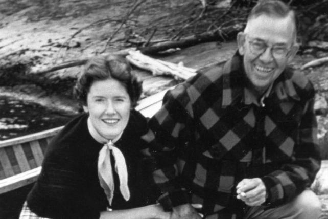 Gertrude and G.D. Crain, Jr.