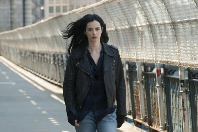 The Netflix original series 'Jessica Jones,' which Symphony Advance Media suggests drew an average of 4.8 million 18-to-49-year-old viewers in a 35-day window. Netflix called Symphony's numbers 'remarkably inaccurate,' but doesn't release any of its own.