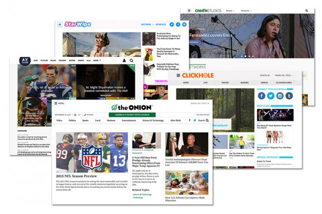 Onion Inc. media properties.
