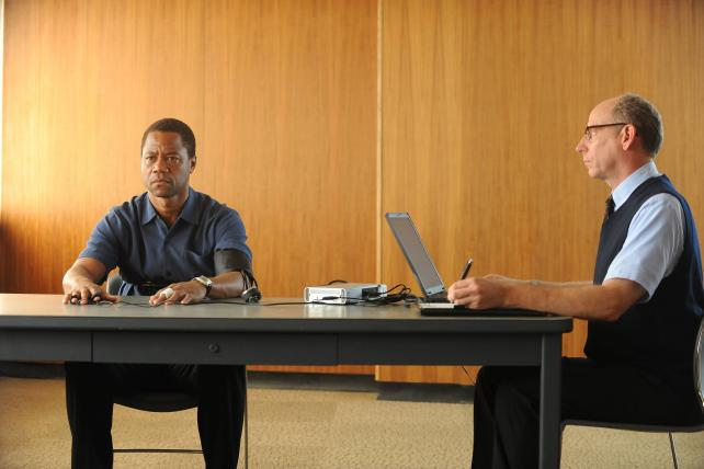 Cuba Gooding Jr. as O.J. Simpson in FX's new series.
