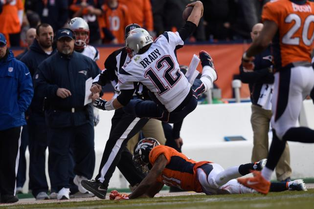 The Denver Broncos bested the New England Patriots in the AFC championship game for a spot in the Super Bowl.