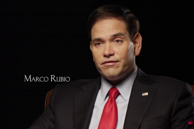 The Rubio campaign has bought Super Bowl time in local ad markets