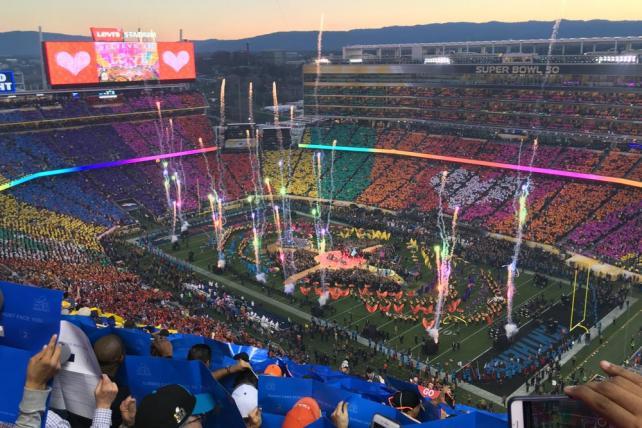 Super Bowl 50 at Levi's Stadium in Santa Clara, Calif.