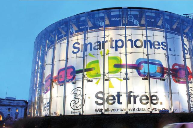Three Wireless will set consumers free ... from ads