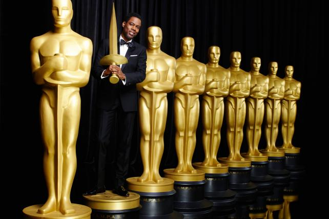 hris Rock returned to host the Oscars for a second time on Sunday on ABC.