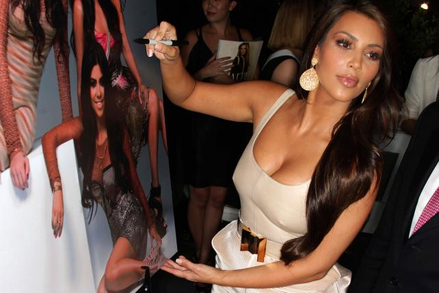 Kim Kardashian at The London in West Hollywood in 2010