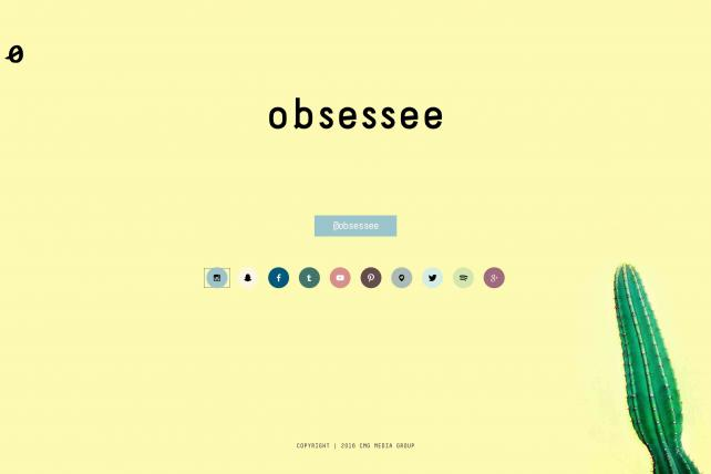 The new media brand Obsessee will begin seeking Gen Z women next week, but its website will only steer people to its social feeds.