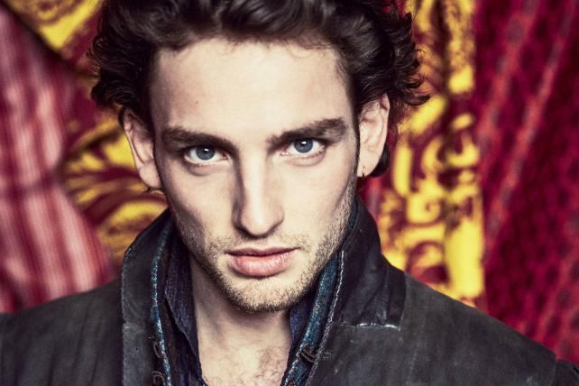 Laurie Davidson stars as a young William Shakespeare in the new series 'Will' from TNT.