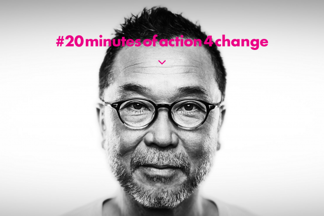 From JWT's #20minutesofaction4change campaign
