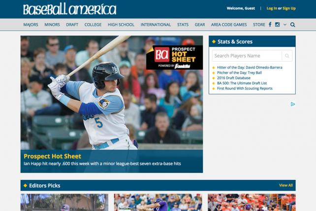 Baseball America is a property of TEN, The Enthusiast Network.