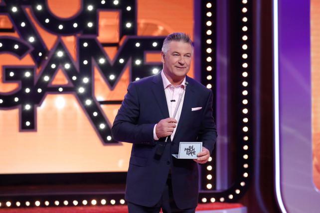 Alec Baldwin hosts 'Match Game' on ABC.