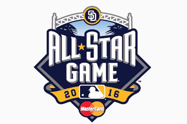 MLB All Star Game logo.