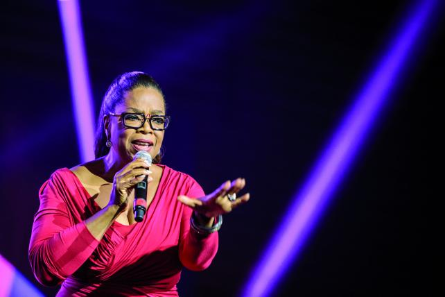 Oprah Winfrey speaks on the importance of self-worth in her inaugural Essence Fest appearance.
