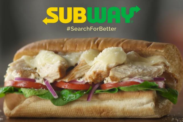 From a Subway ad for 'Better Chicken'.