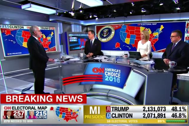 Wolf Blitzer, Jake Tapper, Dana Bash and David Chalian review projections on CNN's election night special coverage.